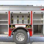 Post rear compartments