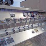 Post pump panel